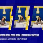 Hampton Athletes Sign National Letter of Intent