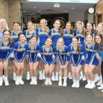 Strong leadership puts Hampton's spirit squad back on the mat.