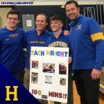 Senior Zachary Wright Wins 100th Win