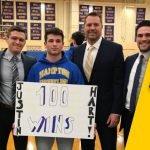 Junior earns 100th Win!