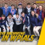 Boys Swimming 3rd Place Finish – AAA WPIAL