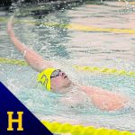 Hampton swimmers exceed expectations at shortened PIAA meet