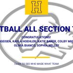 Hampton players make basketball all section teams.