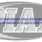 Winter Championships & Spring Sports Cancelled