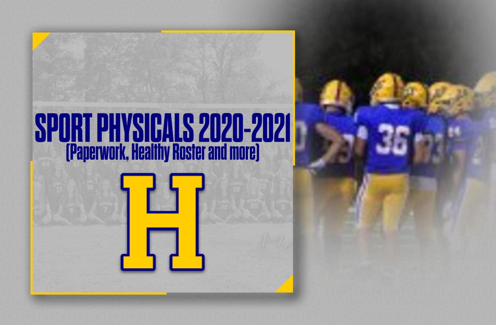 Sport Physicals / Healthy Roster