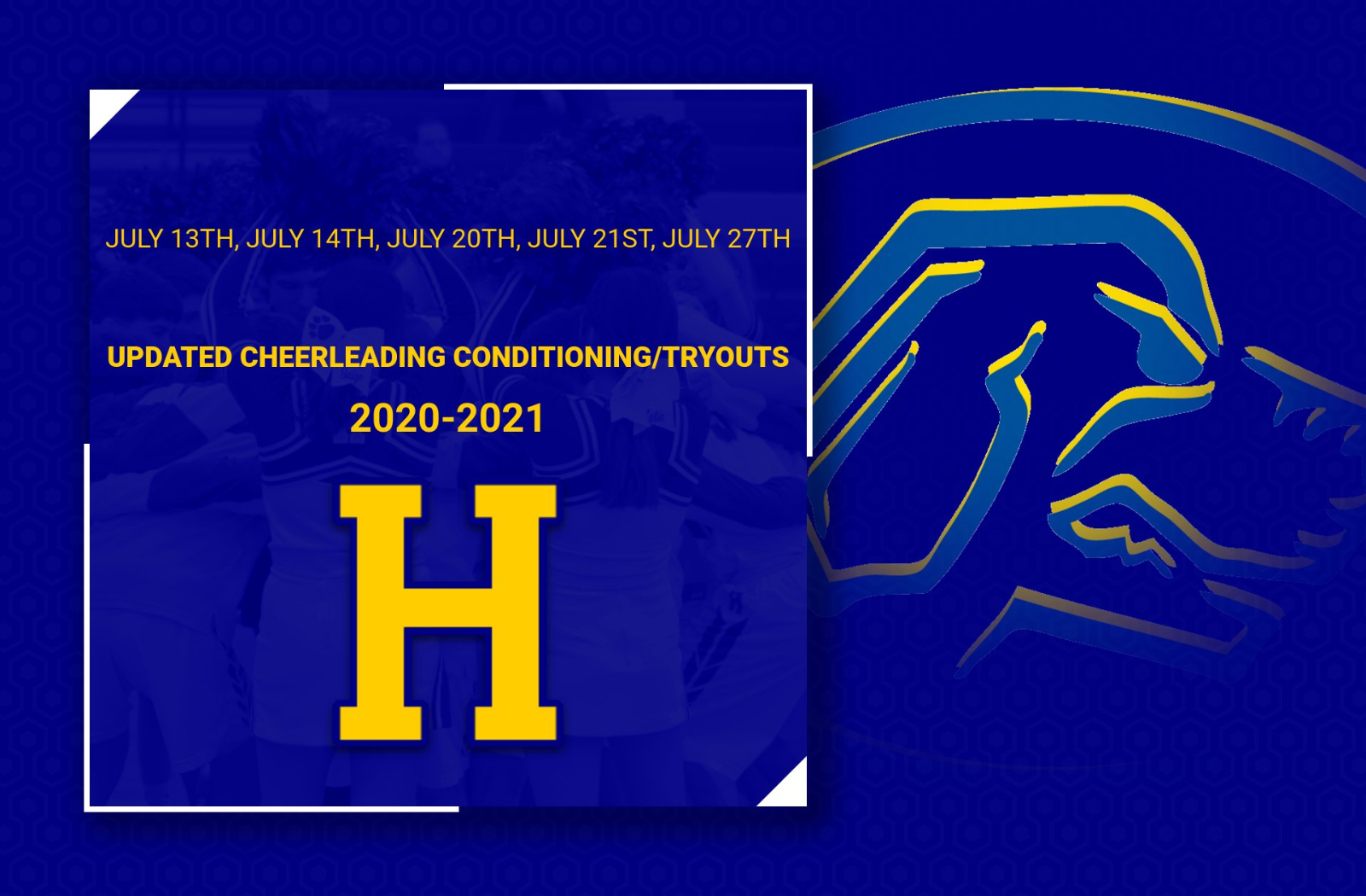 UPDATED Cheerleading Tryout Dates!