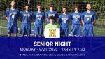 Senior Night – 9.21.2020 – 7:00 (Senior Festivities)