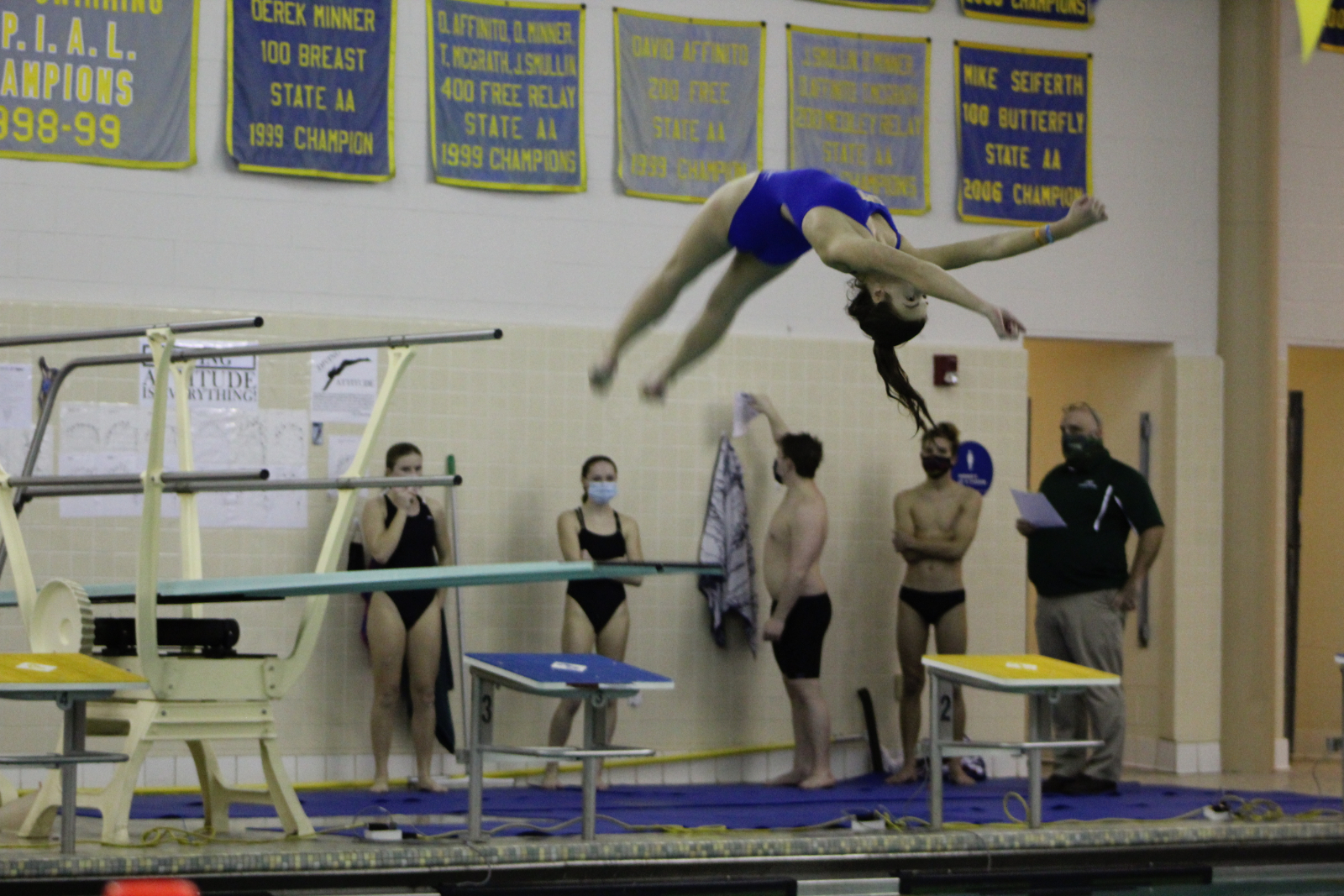 Swimming and Diving vs. Pine Richland