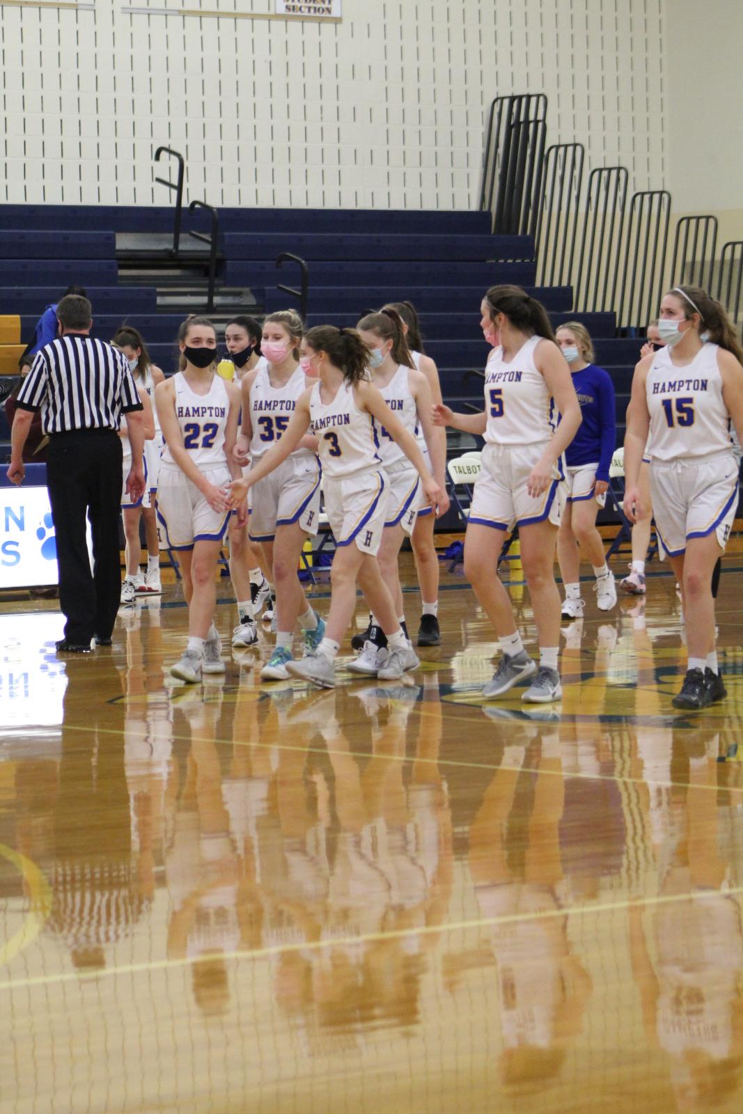Girls Basketball vs. Indiana