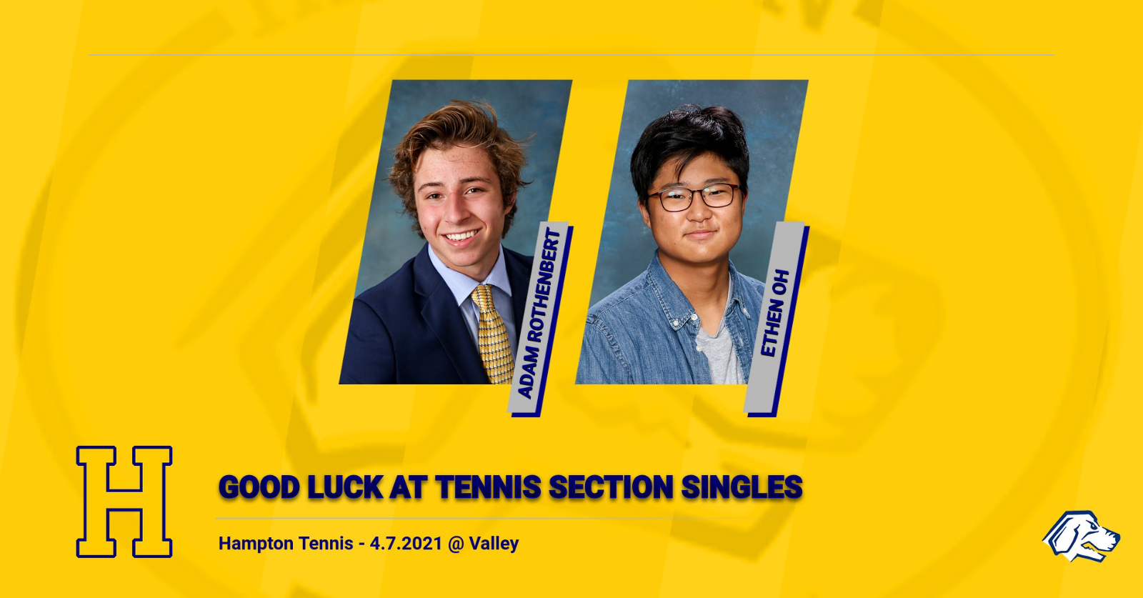 Tennis Section Singles