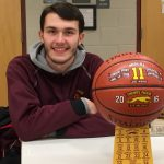 Midura nets 1000th point at HoopHall