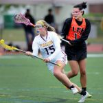 Girls Lax Rallies Back to Beat Pope Francis