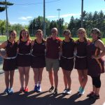 Girl's Tennis Senior Night