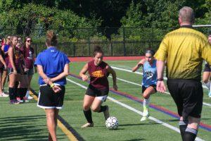 Girls Soccer Scrimmage with Westside