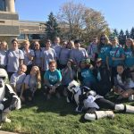Gymnastics and Volleyball take part in Shriners 8th Annual Walk for Love