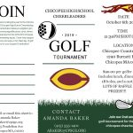 Cheer Team to Host Golf Tournament