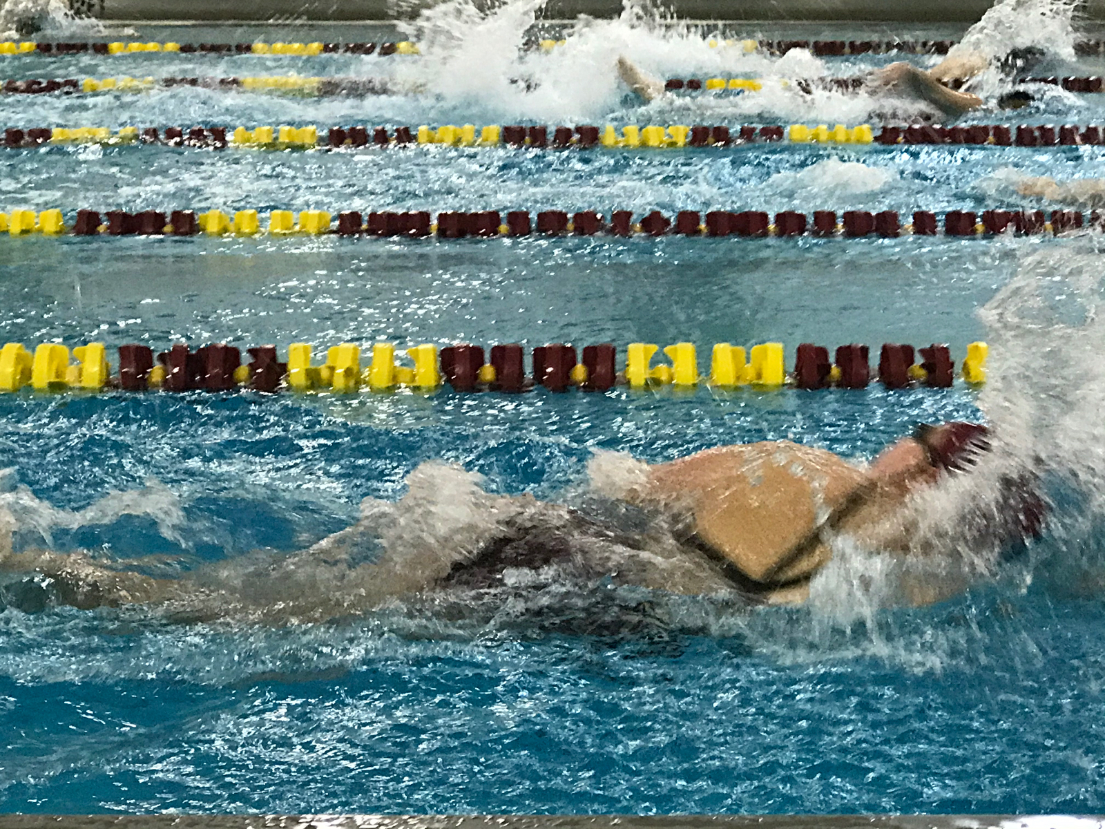 Chicopee Pacers Swim Team Face Off Against Ludlow Lions in Season Opener