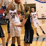 Lady Cavs pull away from Lady Knights