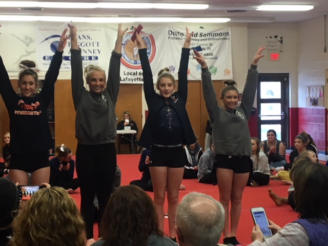 Foster finishes 2nd in All-Around at Jeff Invite