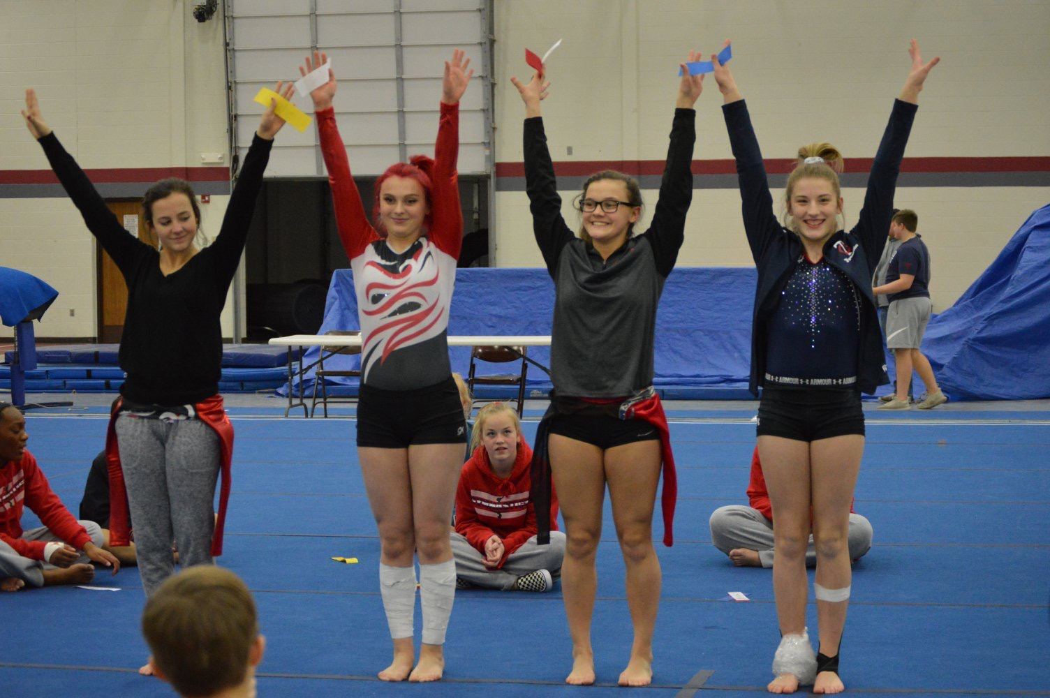 Foster receives First in All-Around