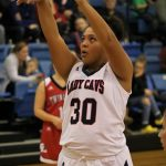 Girls Varsity Basketball falls short to N. White  in a tough battle 45 – 42