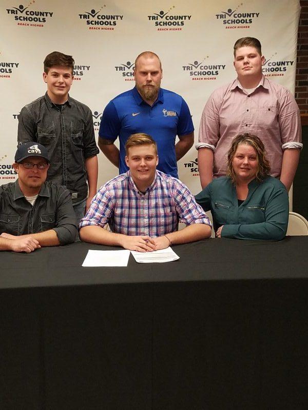 Nevitt signs to play baseball at Ancilla College