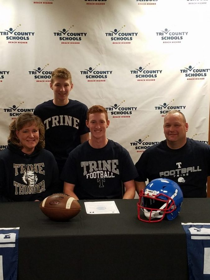 Lawson signs with Trine