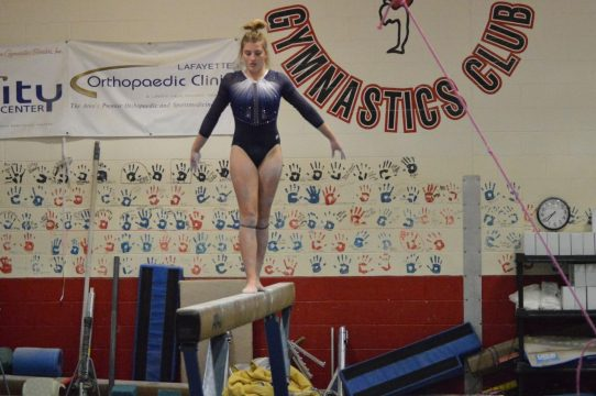Foster to compete on beam at IHSAA Gymnastics State Finals