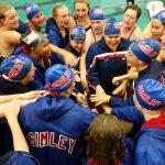 Simley High School Girls Varsity Swimming falls to Hill-Murray School 99-81