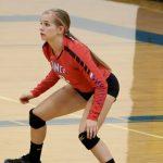 Simley High School Girls Varsity Volleyball falls to Hill-Murray 3-0