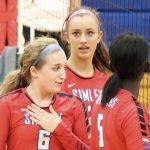 Simley High School Girls Varsity Volleyball beat Tartan High School 3-1