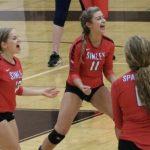 Simley High School Girls Varsity Volleyball beat Henry Sibley 3-0