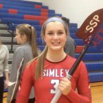 Simley High School Girls Varsity Volleyball beat So. St. Paul 3-0