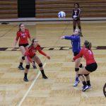 Simley High School Girls Varsity Volleyball beat Henry Sibley Senior High School 3-0