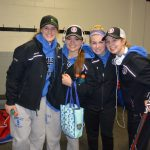 Great Win for the Spartan Girls Hockey Team