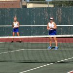 Simley High School Girls Varsity Tennis beat North High School 7-0