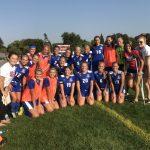 Simley High School Girls Varsity Soccer beat Henry Sibley 3-1