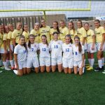 Simley High School Girls Varsity Soccer beat Hastings High School 2-1