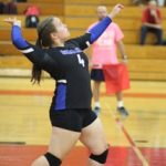 Simley High School Girls Varsity Volleyball beat Minneapolis South 3-0