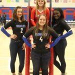 Simley High School Girls Varsity Volleyball beat Visitation High School 3-1