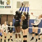 Simley High School Girls Varsity Volleyball beat Park 3-0