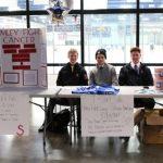 Boys Hockey Players Organize Hockey Fights Cancer Event