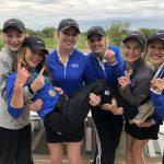 Girls Varsity Golf finishes 3rd place at Dakota County Championship