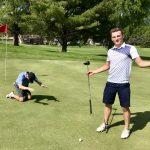 Boys Varsity Golf finishes 1st place at Simley NSP Tartan
