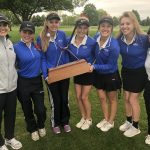 Girls Varsity Golf finishes 1st place at Tri-City Championship