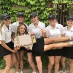 Girls Varsity Golf finishes 1st place at Conference Final