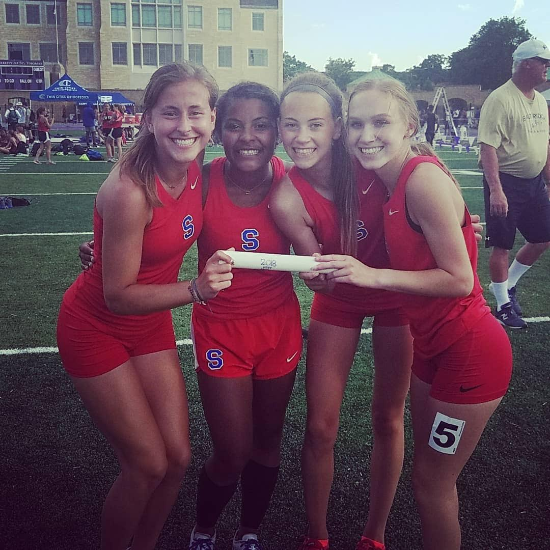 Track Sections-Girls 4 x 100 and Salaam qualify for state