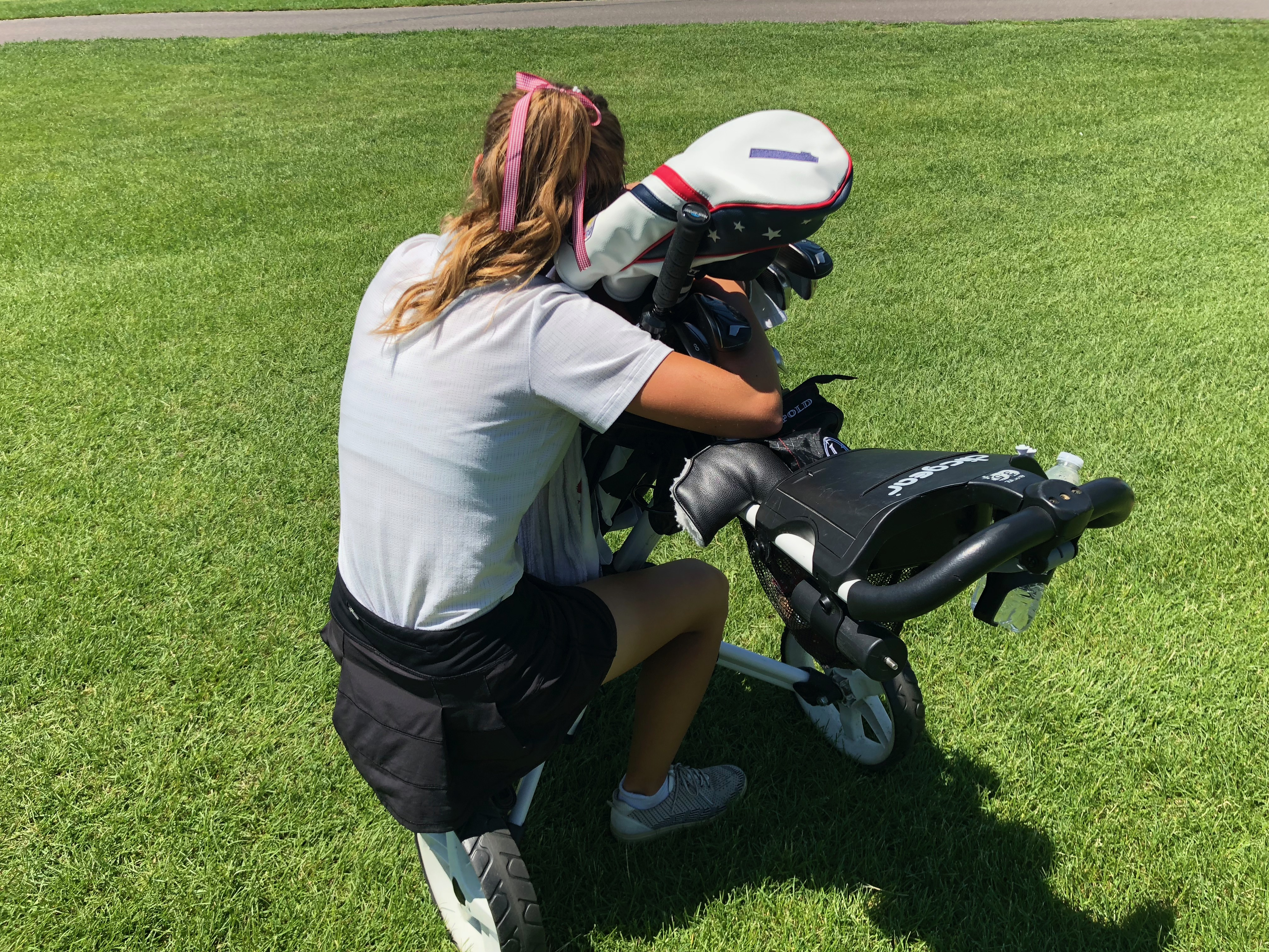 Girls Varsity Golf finishes 3rd place at Sections- Day 1