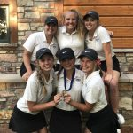 Girls Varsity Golf finishes 3rd place at Sections- Day 2