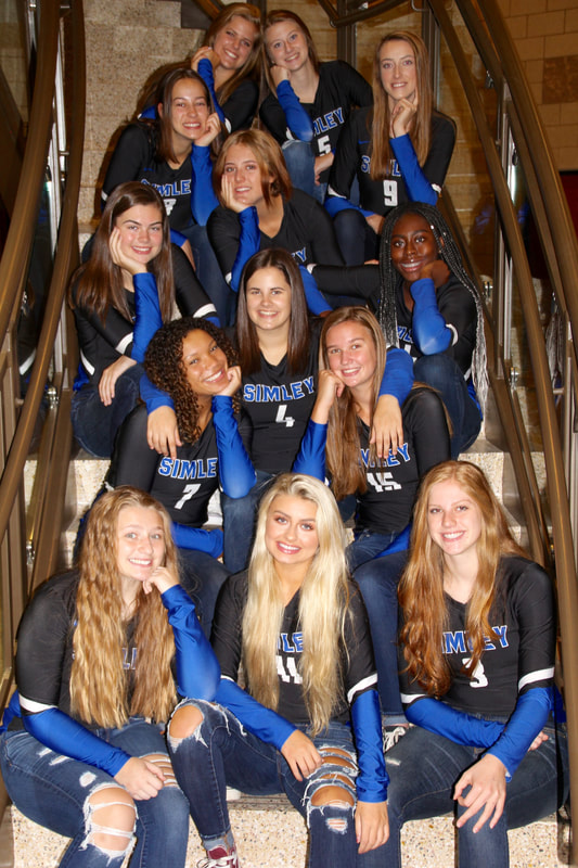 Simley Volleyball Goes 2-2 at Visitation Invite to Finish 3rd